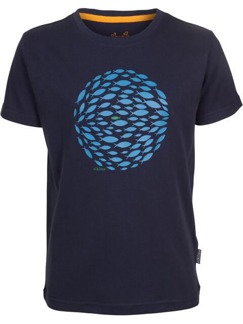Elkline Butterbeidiefische - Camiseta manga corta Niños - azul